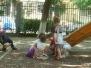 Joaca in parcul gradinitei